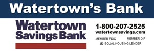 Watertown Savings Ad
