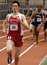 Nick Goodman dominated on the track for Watertown High School, and went on to run for Boston University.