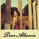 """The poster for Eliza and Nate Dushku's documentary """"Dear Albania,"""" currently showing on PBS."""
