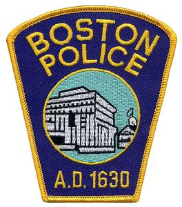 Boston Police patch