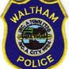 Waltham Police Patch